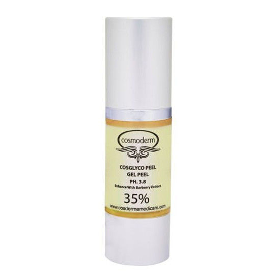Cosderma Glycolic Acid Peel 35% Gel Peel For Fairness Peel Enriched With Barbery Extract (30 Ml)