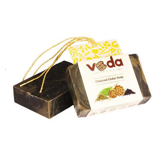 Veda Essence Charcoal Cedar Soap (125 G)