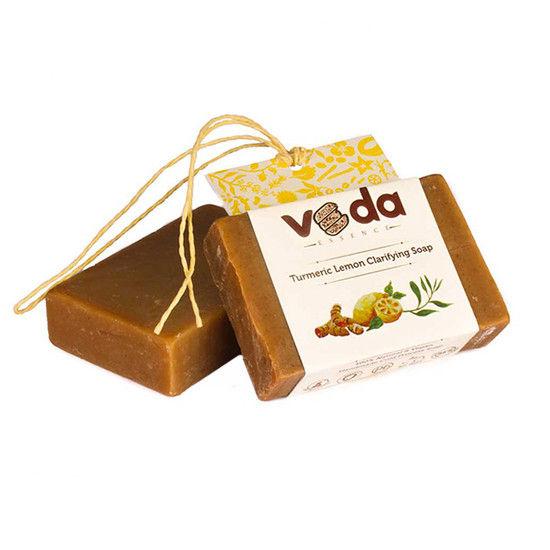 Veda Essence Turmeric Lemon Clarifying Soap (125 G)