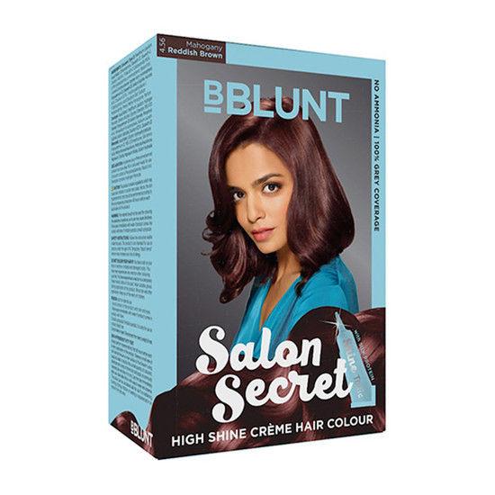 Bblunt salon secret high shine creme hair colour coffee for B blunt salon secret hair colour price