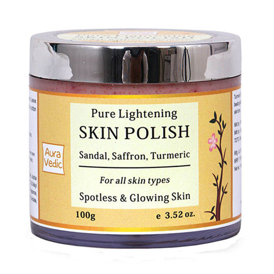 Auravedic Pure Lightening Skin Polish(100 G)