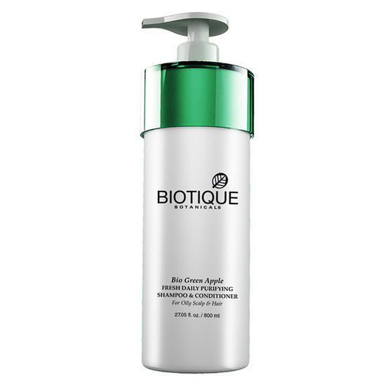 Biotique Bio Green Apple Shampoo (800 Ml)